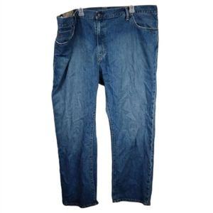 Vintage 46x30 Ralph Lauren straight leg blue jeans